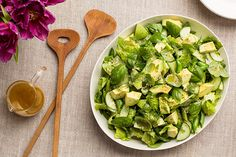 Find the recipe for All Green Salad with Citrus Vinaigrette and other asparagus recipes at Epicurious.com
