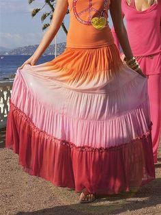 #Как_сшить_юбку ярусами. #Выкройка. Расчет ткани. Видео | Как сшить юбку от А до Я. Выкройки. #Фасоны. Модные модели