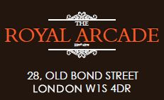The Royal Arcade, Old Bond Street Shops, Mayfair, London