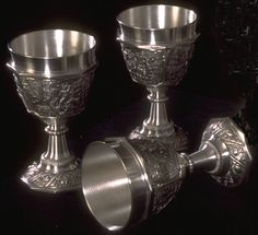 gothic goblets and chalices | Solid-Brass gift shop, Medieval Boutique, the Middle Ages resources ...