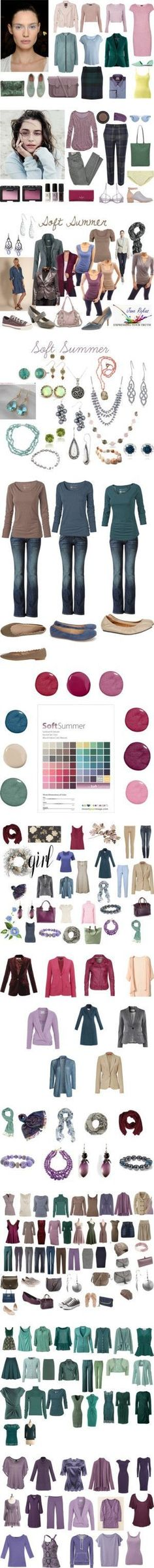 Soft Summer personal coloring, vol. III by in-vero-pulcritudo on Polyvore featuring мода, Veda, A.L.C., Topshop, Paul Smith, Chicnova Fashion, Vero Moda, Pieces, ONLY and Grenson