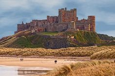 Bamburgh Castle, Northumberland England - I love this place, it is definitely on my bucket list to visit!