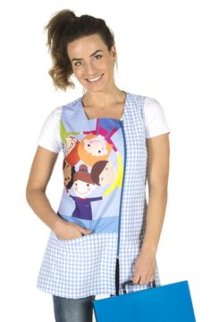 Teacher Apron, Biology Art, Teacher Outfits, Sewing Crafts, Jumper, Summer Dresses, Clothes, Fresco, Nursery