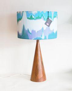Fun watercolour lampshade