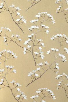 Wallpaper - Blossom - Renaissance Gold