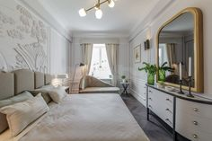 White French style bedroom