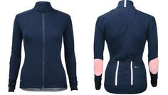 Merino Cycling Jersey by Cafe du Cycliste. Love those elbow patches.
