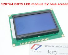 Free shipping 12864 128x64 Dots Graphic Blue Color Backlight LCD Display Module for arduino raspberry pi   Notice: The new tracking number for Malaysia Post Ordinary Small Packet Plus can be traced only befor it arrive the airport of your country,please choose China Post Air Mail if you want a full tracking info.The same product will arrive in 15 to 60 days  Tracking info of  China Post Ordinary Small Packet Plus can be check here: www.17track.net/en 12864 128×64 Dots ...    US $5.87…