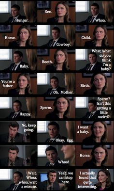 Booth and Bones playing a game.....that escalated quickly.