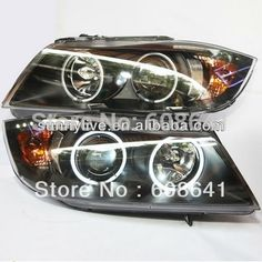 419.99$  Watch here - http://aliueg.worldwells.pw/go.php?t=1472009464 - For BMW E90 CCFL Angel Eyes Head Lamp 2006-2008 year LF