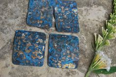 Melinda Orr Metal & Clay Jewelry Designs: Free Sapphire Patina Tutorial ~ An Easy DIY Project with Amazing Results!