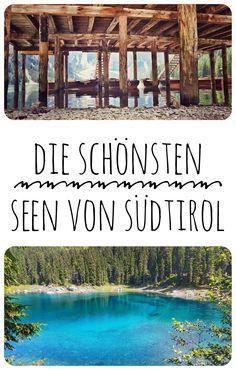 Ich zeige dir auf meinem Blog wo du die schönsten Seen von Südtirol findest!