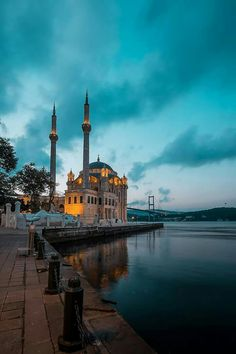 Istanbul City, Istanbul Travel, Istanbul Turkey, Turkey Places, Mosque Architecture, Mekka, Beautiful Mosques, Beautiful Places In The World, Islamic Pictures
