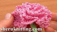 Sheruknittingcom: Free Crochet Flower Tutorials