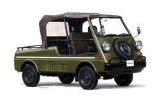 Honda Vamos, gebaut von 1970-1973, mit 354 ccm und 22 KW (30 PS). Gab es nur in Japan.