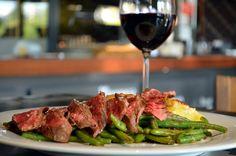Flank steak Flank Steak, Nachos, Asparagus, Meat, Vegetables, Food, Skirt Steak, Studs, Essen
