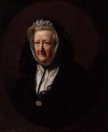Mary Delany (1700-1788) British blue stocking, artist, letter-writer and maker of 'paper-mosaicks'