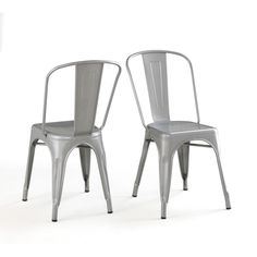 Tabouret Bistro Steel Side Chairs (Set of 2) | Overstock.com Shopping - The Best Deals on Dining Chairs
