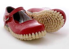 #chaussures effrayantes, juste un clin d'oeil #scarryshoes