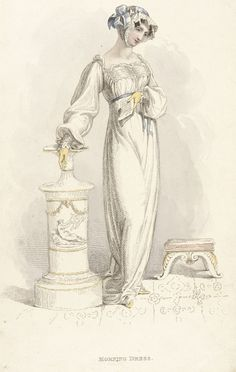 Fashion Plate (Morning Dress) | LACMA Collections