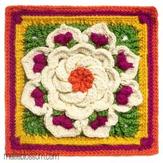 Free Tropical Delight Crochet Pattern from mellieblossom.com!!!