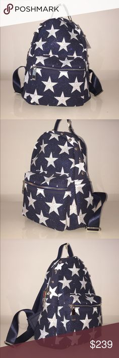 ONE OF A KIND!!! CRYSTAL STAR BACKPACK NWT ONE OF A KIND CRYSTAL STAR BACKPACK NEW WITH TAGS Bags Backpacks