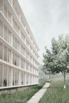 Karamuk * Kuo Architekten cluster sport international . university of lausanne