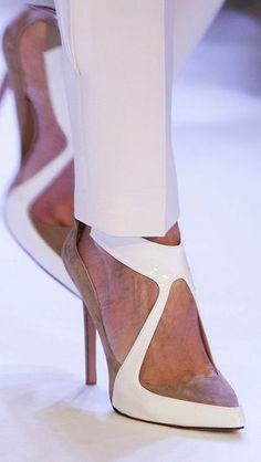 new product d62a0 68320 Pretty shoe for my shoe obsessed friends. Couture Spring 2014 - Stéphane  Rolland - she just keeps getting better.