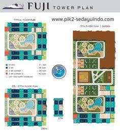 Tower Plan FUJI - Apartemen Tokyo Riverside PIK2 Jakarta #pik2apartemen