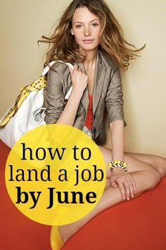 A month-by-month guide on how to land a job by graduation