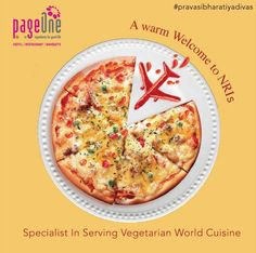 Looking out for the same quality of food that you have become habituated to in abroad? #Pageone is where your search ends. It is a restaurant serving top-class vegetarian world cuisines. Gorge on these unique delights on your trip to India. #NRIDay #PravasiBharatiyaDivas