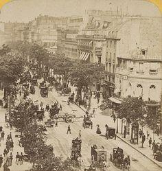 Paris 2e-9e 1860 - Boulevard des Italiens