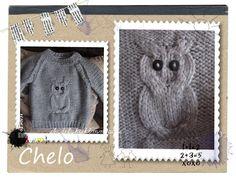 Este gracioso jersey puedemos ver en el blog de Chelo