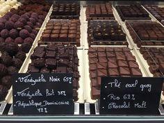Herkullinen pieni suklaapuoti Coppetissa :)