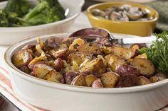 Roasted Party Potatoes | MrFood.com