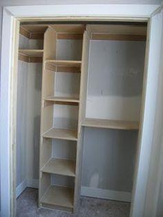 Closet Redo With Bracketless Shelves   LaForce Be With You | Pantry Ideas |  Pinterest | Closet Redo, Closet And Shelves