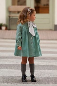Too cute, in coat an