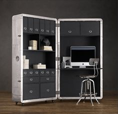Blackhawk security trunk | Perfect home office?