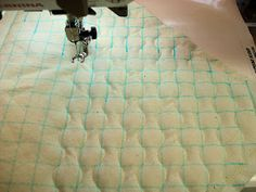 Curved quilting how to