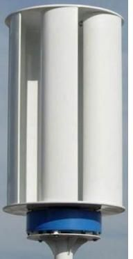 VAWT vertical axis wind turbine blade set