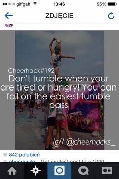 Follow cheerhacks_ on instagram for tumble hacks