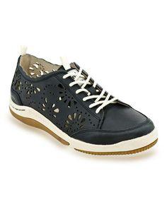 Midnight Bloom Leather Sneaker by Jambu