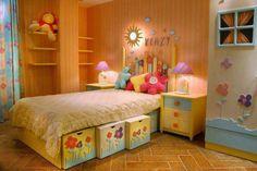 Beautifully decorated nursery room