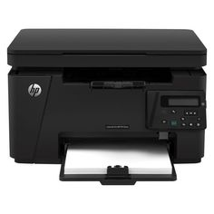 HP LaserJet Pro MFP All-in-One Wireless Multifunction Monochrome Laser Printer, Copier, Scanner - Up to 21 ppm - Up to 600 x 600 dpi - 150 Sheet - Hi-Speed USB Printer Types, Hp Printer, Laser Printer, Mac Os, Led, Black And White Printer, Hp Products, New Year Offers, Software