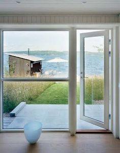 glass door + window