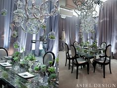 asiel design is blowing my mind. awesome event designs