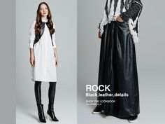 BSB//Shop the Lookbook >> http://bit.ly/1PevUTG ROCK-leather,details