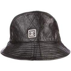 082dd8b6 Chanel Bucket Hat ($345) ❤ liked on Polyvore featuring accessories, hats,  fisherman