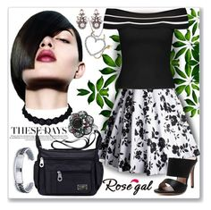 """Off The Shoulder Jumper-21"" by ane-twist ❤ liked on Polyvore"