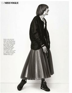 kinga csilla vogue paris